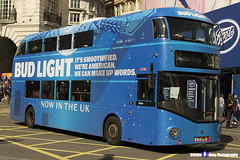 Wrightbus NRM NBFL - LTZ 1286 - LT286 - Bud Light - Deptford Bridge 453 - Go Ahead London - London 2017 - Steven Gray - IMG_5696