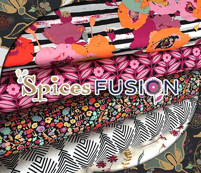 Art Gallery Fabrics Spices Fusion Collection by AGF Studio