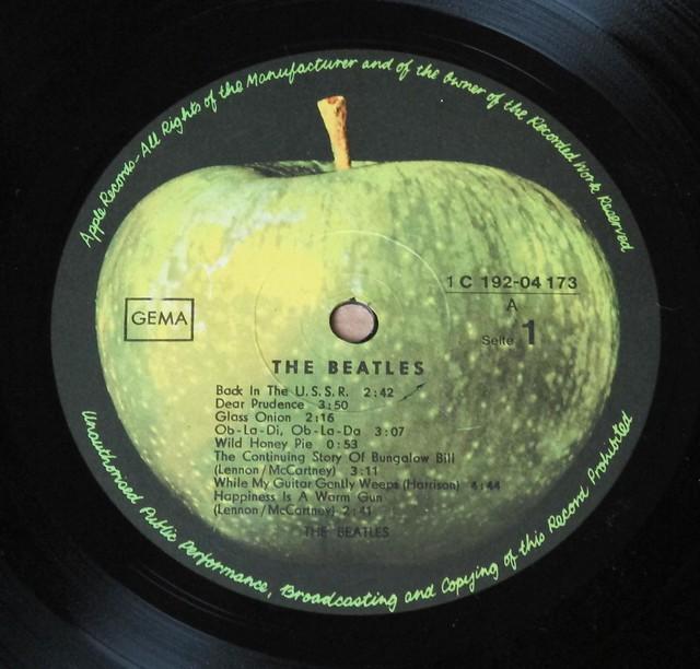 """Beatles White Album COMPLETE Poster & Portrait PHOTOS Germany 12"""" Vinyl LP"""