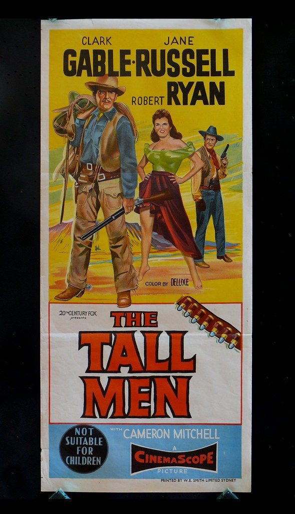 The Tall Men - Poster 3