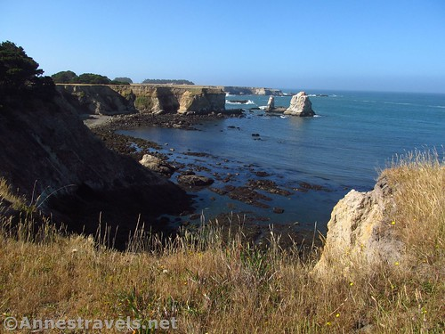 Cliffs and Sea Stacks at Point Arena-Stornetta National Monument, California