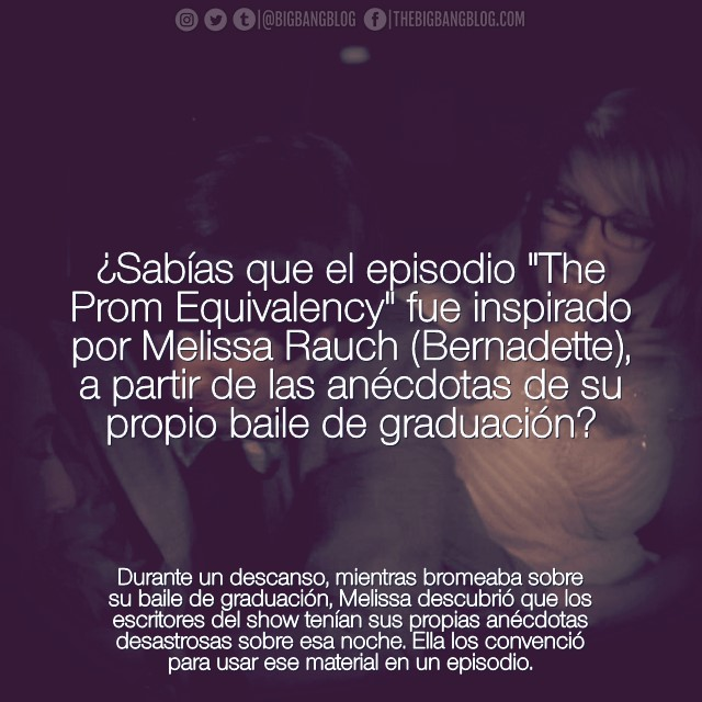 Sabias 8x08 Melissa Rauch tiene una idea baile graduacion