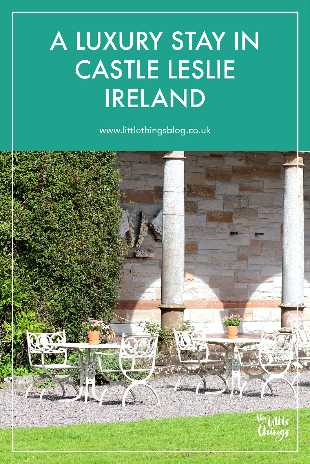 Castle Leslie Ireland review luxury travel blogger UK wedding venue