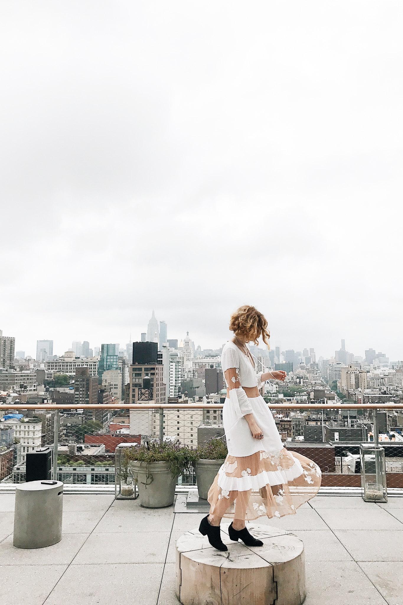 White For Love and Lemons Dress on juliettelaura.blogspot.com