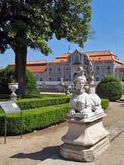 QUELUZ, PORTUGAL - Royal Palace/ КЕЛУШ, ПОРТУГАЛИЯ - Королевский Дворец