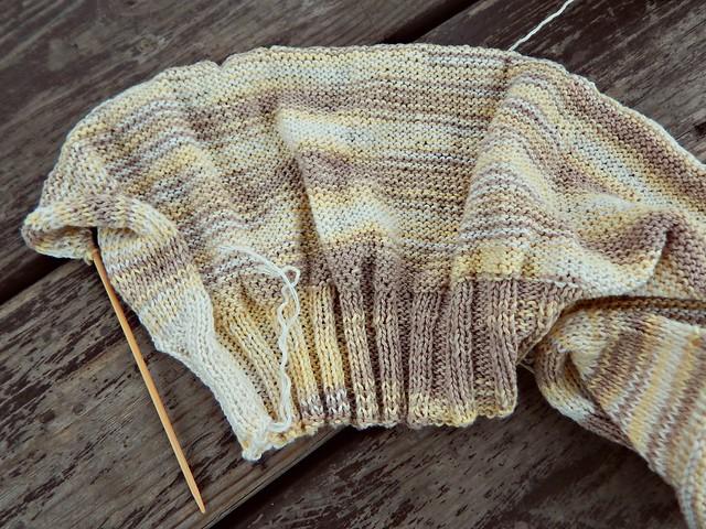 свитер, изнанка | sweater, wrong side
