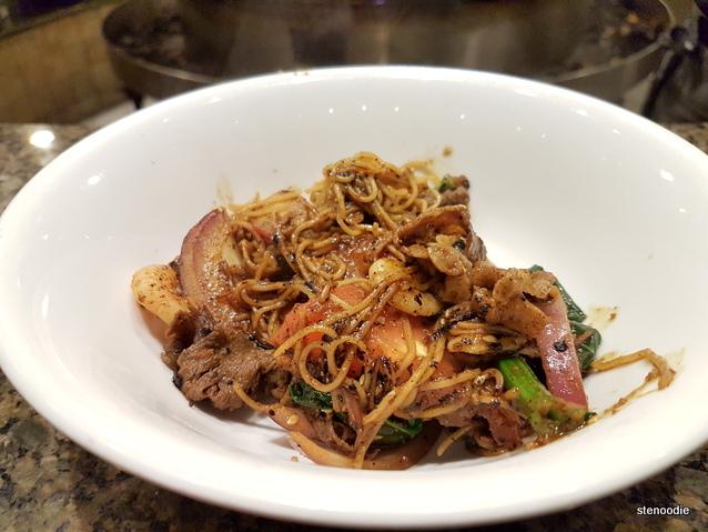 customized noodle bowl