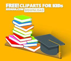 books Kidaha Clip art collection for kids