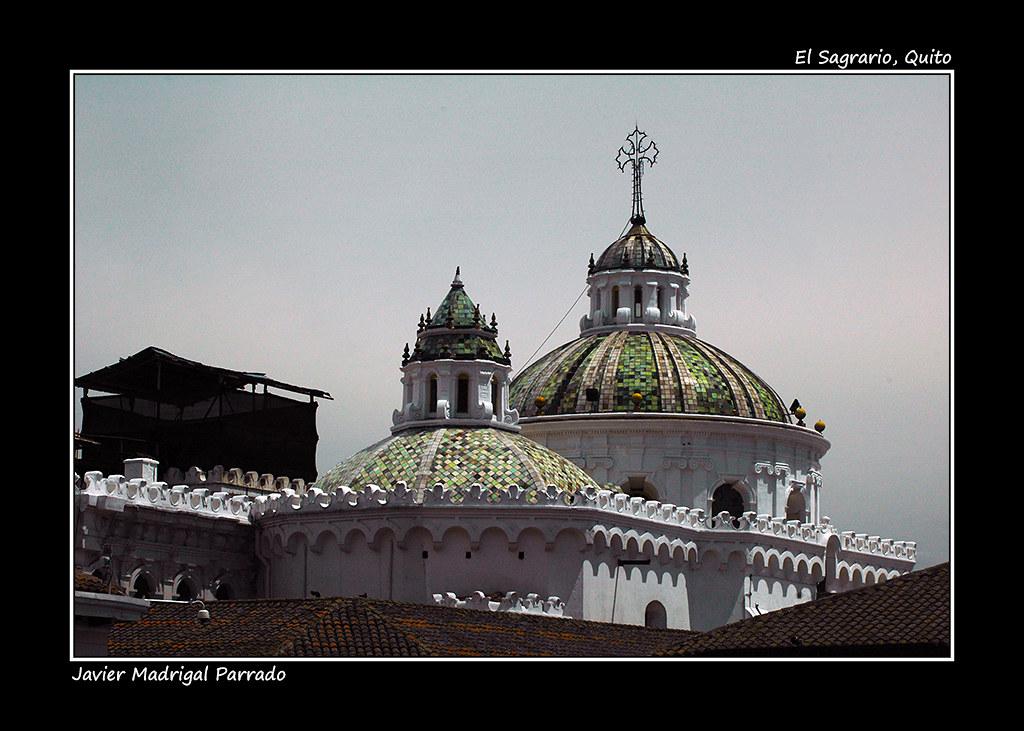 Iglesia de El Sagrario. Quito.