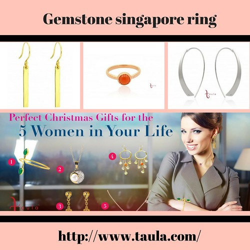 Choose the Gemstone Singapore ring from Taula