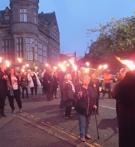 Bloody Scotland Torchlight Procession