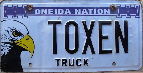 Oneida Nation Truck Vanity License Plate