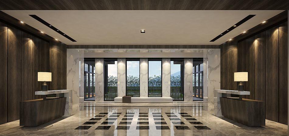 20170616 興築建設八里案 lobby