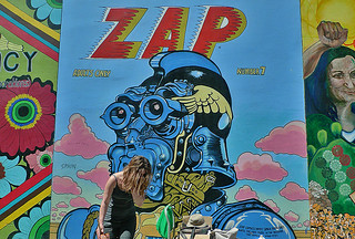 Mural in the City - Clarion Alley Zap
