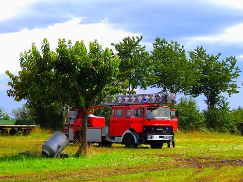 Alter Feuerwehrwagen