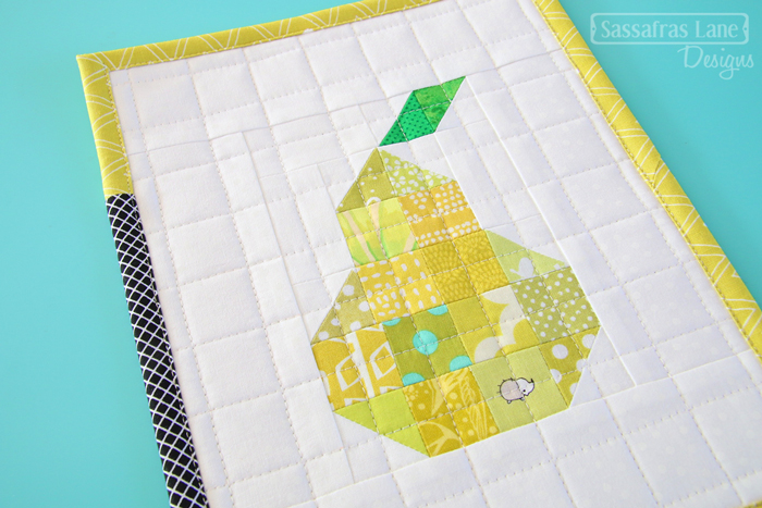 Free Patchwork Pear Pattern