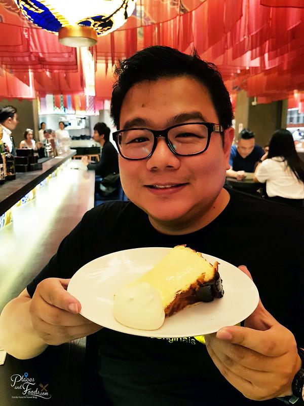 tokyo restaurant cheese cake