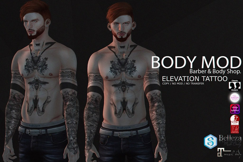 BODY MOD - Elevation Tattoo - SecondLifeHub.com