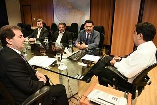 Em Brasília, deputado Paulinho da Força e prefeitos se reúnem com ministros