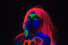 Retratos fluorescentes