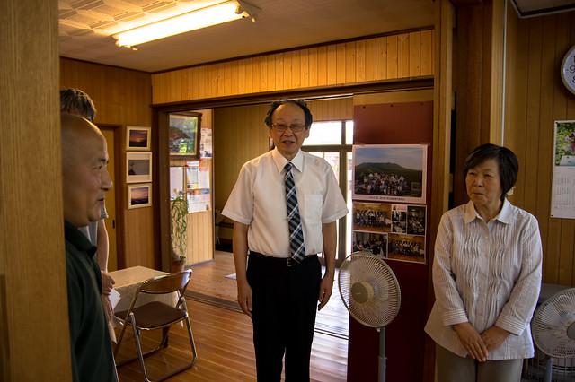 大島元村教会の菅野牧師夫妻
