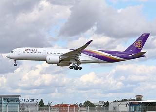 F-WZNS AIRBUS A350 THAI