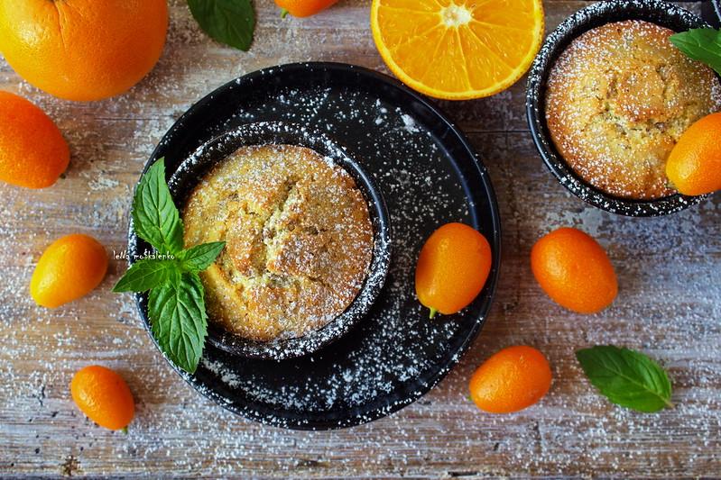 ...orange muffins
