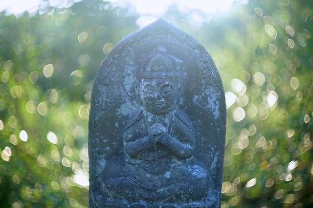 DSC01470 普光寺の石仏 Fukohji Temple Stone Buddha
