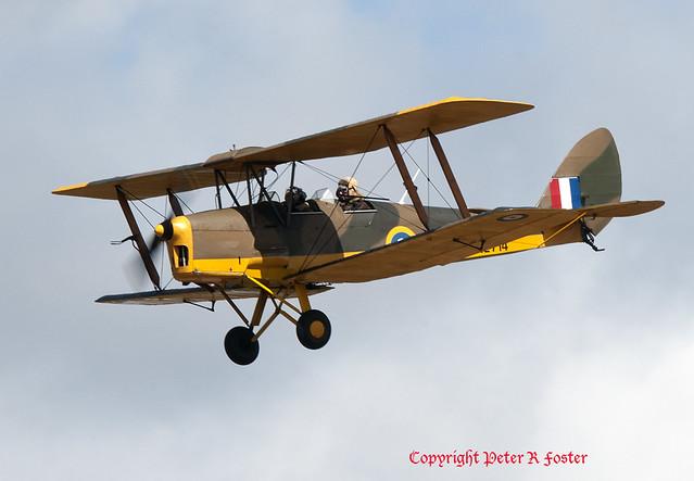 De Haviland DH.82A Tiger, Nikon D300, AF-S VR Nikkor 400mm f/2.8G ED