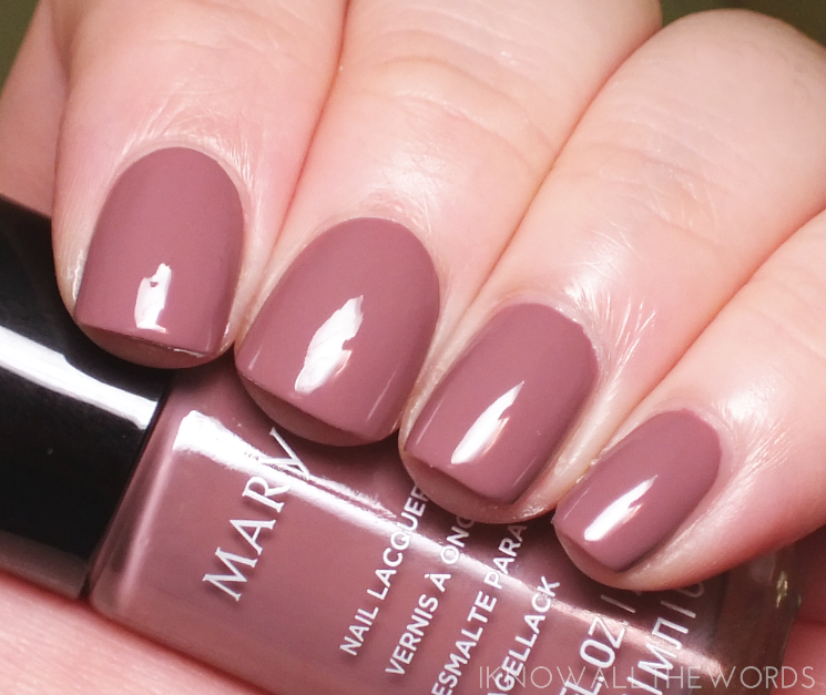 mary kay fall 2017 colour collection rose blush nail lacquer