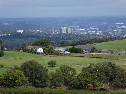 Sheffield from the moors