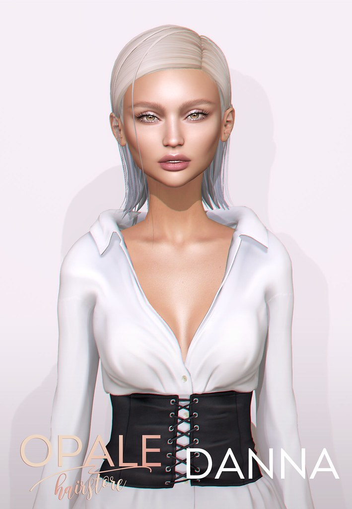 Opale Hair . Danna @ Shiny Shabby August 2017 - SecondLifeHub.com