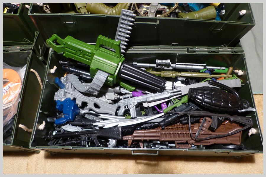 Locker Boxes Full of Mixed Items 36630544795_117f910109_o