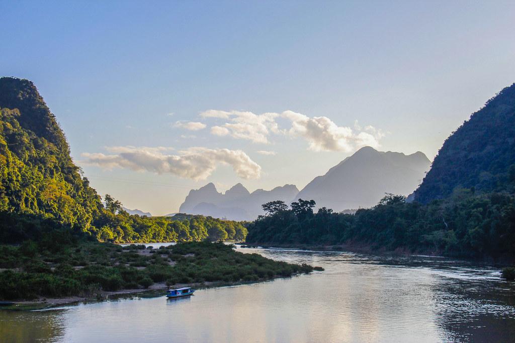 Muang Ngoi, den smukkeste by i Laos