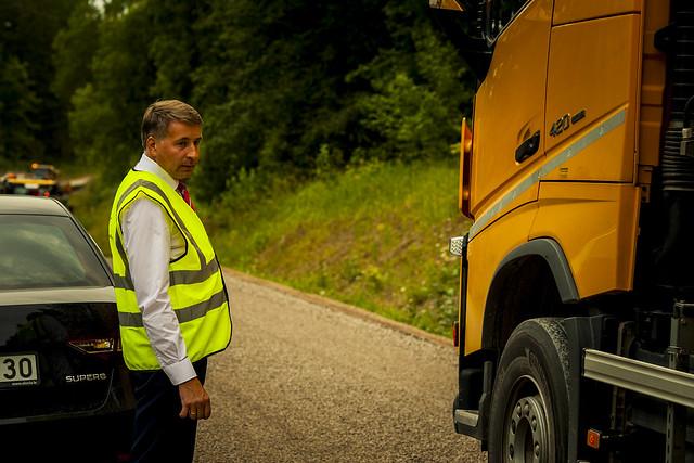 Satiksmes ministrs Uldis Augulis, Nikon D3, AF-S Nikkor 70-200mm f/2.8G ED VR II