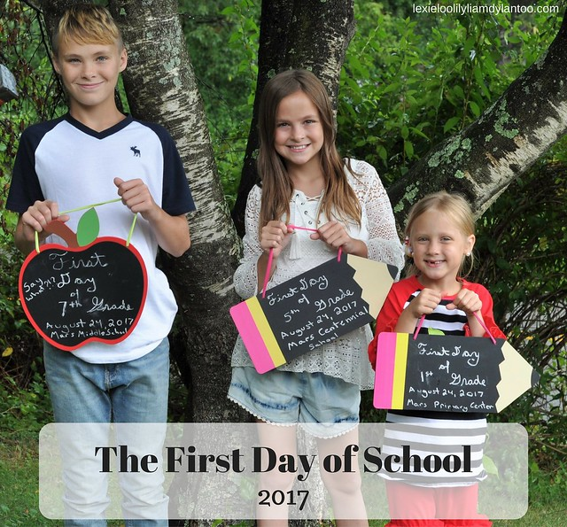 The First Day of School 2017