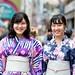 Japanese Yukata Fashion in Harajuku