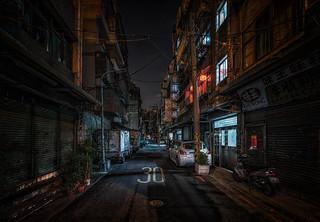 Taipei darkness