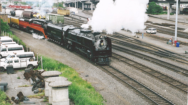 UP 844 and SP 4449 Doubleheading in 2007!