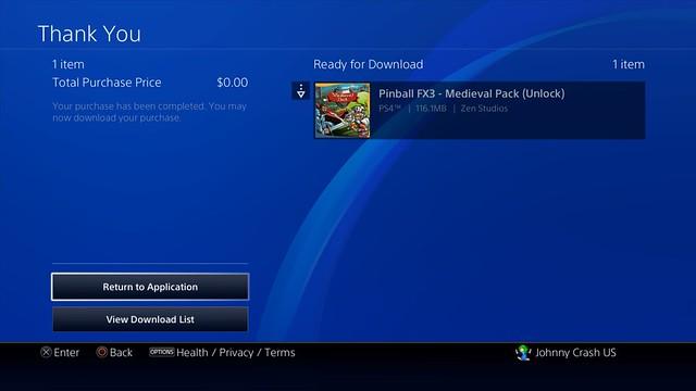 Pinball FX3 & Universal Classics Pinball Roll to PS4 on September 26