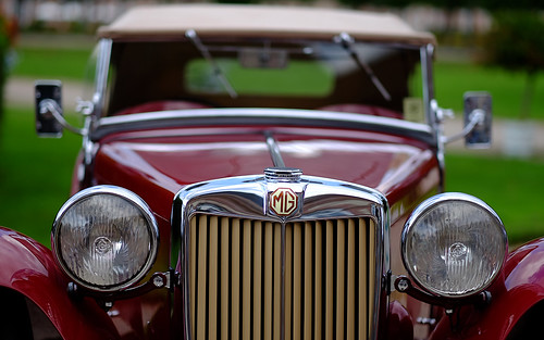 MG TC Roadster, GB 1948