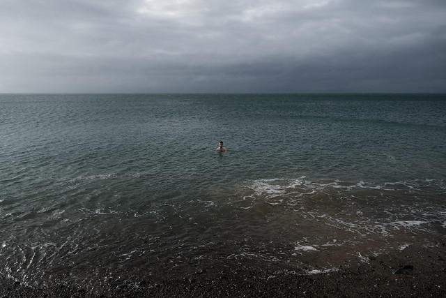 Sibling in the Sea (Unhelpful Portrait #3), Nant Gwrtheyrn, Sep 17