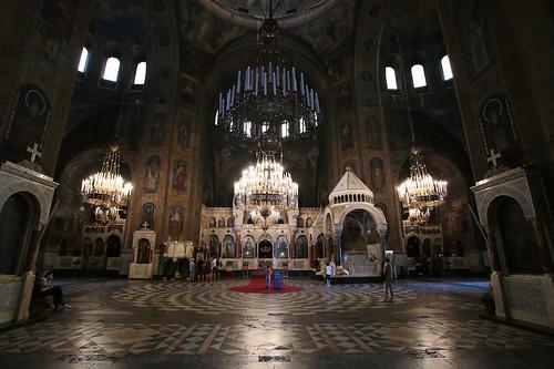 Cattedrale Alexander Nevsky: interni