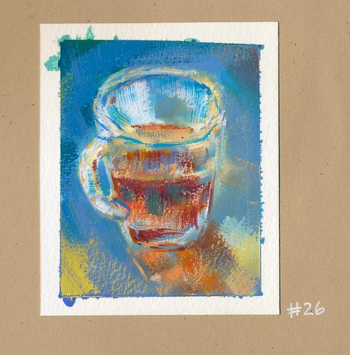 Sketchbook #106: Gouache - Tea