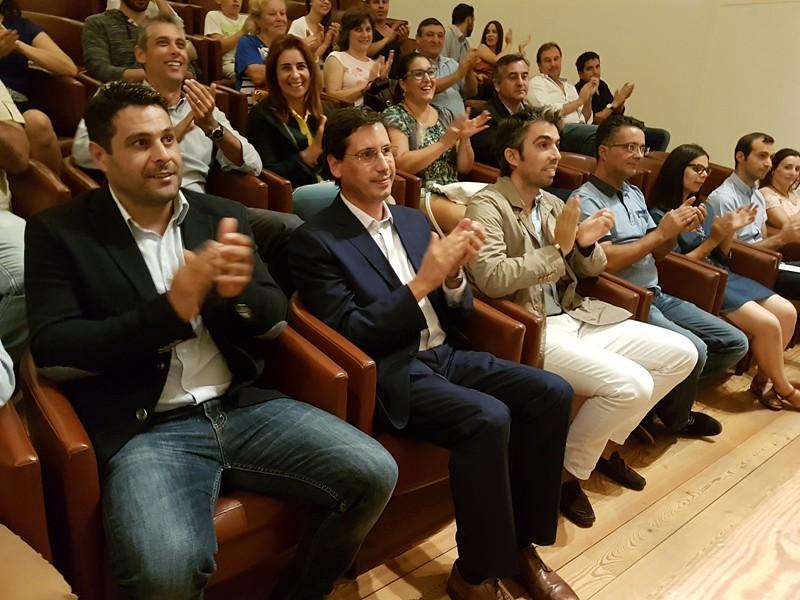 Nuno Sá com António Gonçalves no Centro de Estudos Camilianos01