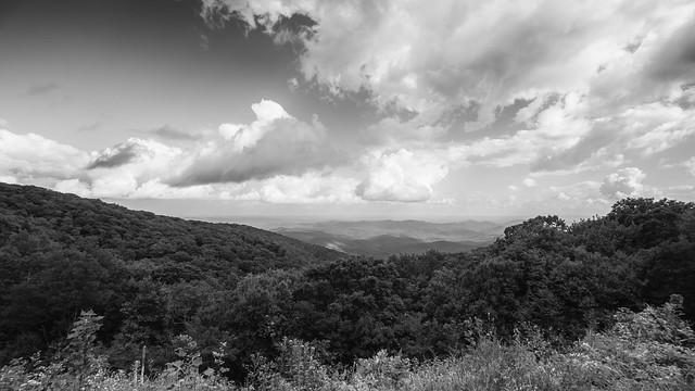 BlueRidge Mountains BW