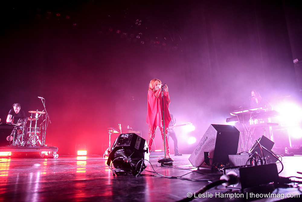 Goldfrapp @ Warfield, San Francisco 9/16/17