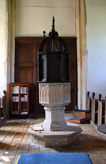 15th Century font, 17th Century cover