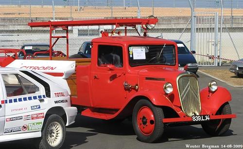 Citroën U23 fire truck