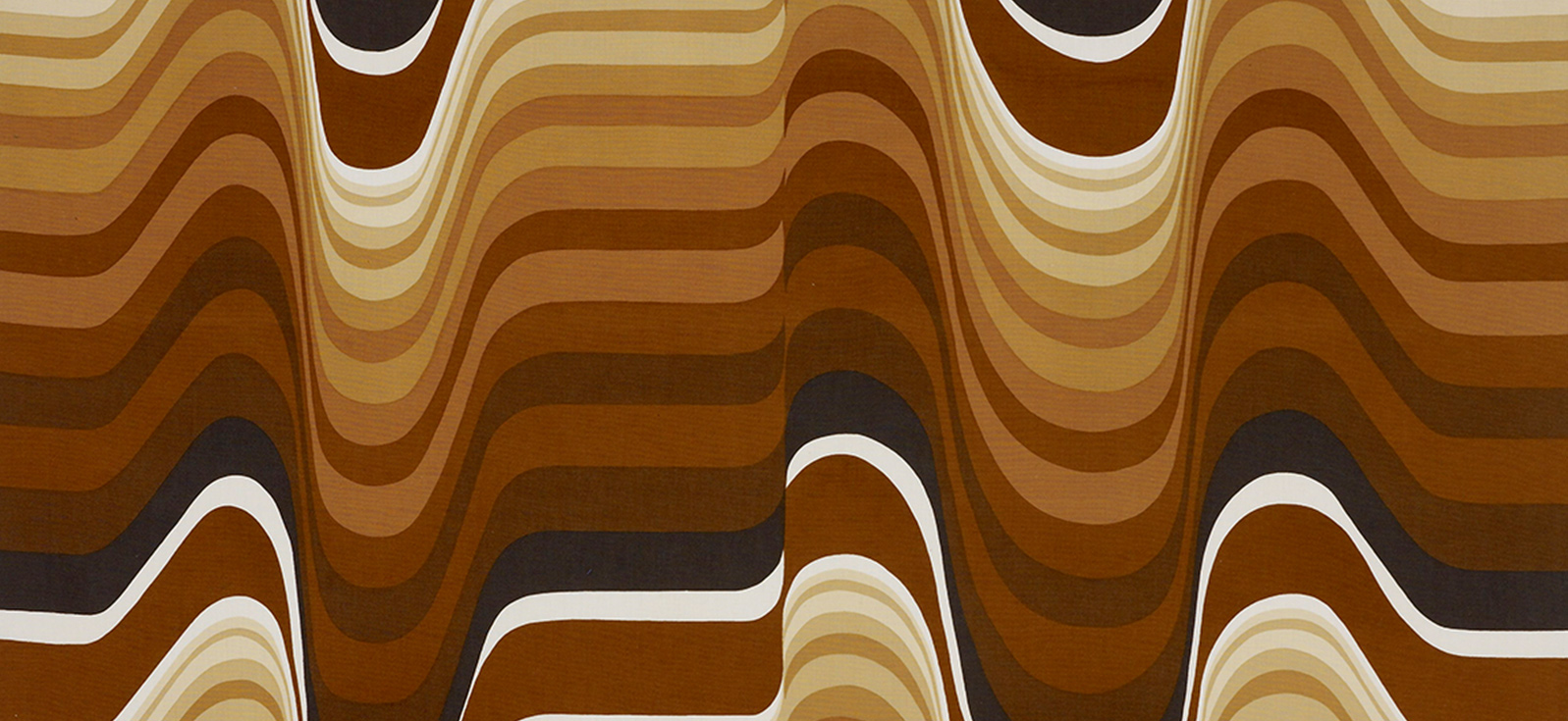 Barbara Brown, Frequency, Heal Fabrics, 1969
